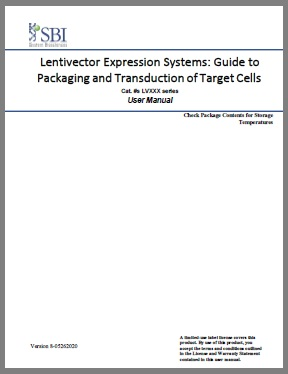 Lentivector Expression Systems: Guide