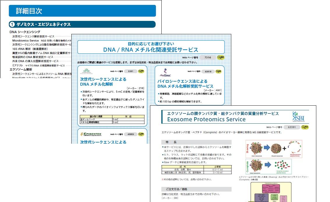 受託サービスカタログ2019-2020内容イメージ